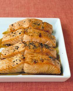 Soy Glazed Salmon via Martha Stewart